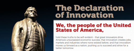 The Declaration of Innovation